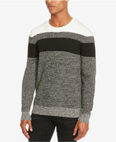 Kenneth Cole Reaction Men's Marled Colorblocked Sweater