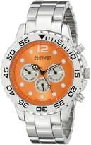 August Steiner Men's AS8158OR Analog Display Swiss Quartz Silver Watch