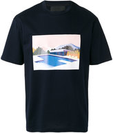 Plac pool graphic print T-shirt - men - Cotton - XL