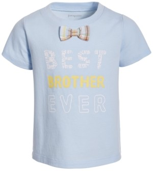 First Impressions Baby Boys Bowtie Cotton T-Shirt, Created for Macy's