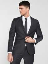 HUGO Arti Suit Jacket - Charcoal