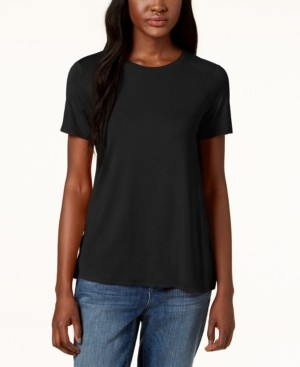 Eileen Fisher System Stretch Jersey Short-Sleeve T-Shirt, Regular & Petite