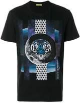 Versace lion print T-shirt