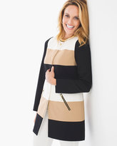 Chico's Colorblock Statement Jacket