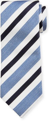 Brioni Seasonal Striped Silk Tie