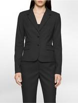 Calvin Klein Pinstripe Suit Jacket