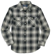 Ralph Lauren Boys' Vintage Twill Plaid Shirt - Sizes S-XL