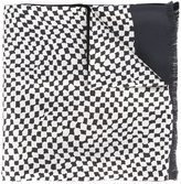 Haider Ackermann abstract squares scarf - men - Silk/Wool - One Size