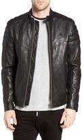 G Star Men's Suzaki Sheepskin Leather Jacket