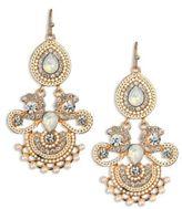 Kenneth Jay Lane Gold Chandelier Earrings