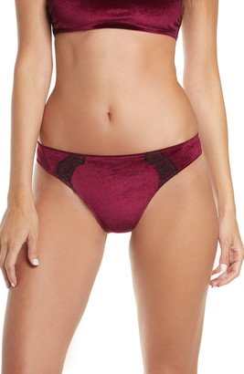 Jason Wu Collection Cheeky Velvet Lace Panties