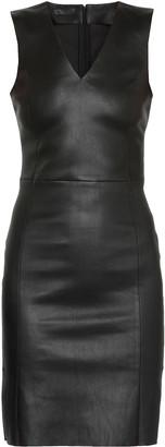 Drome Leather Stencil Dress