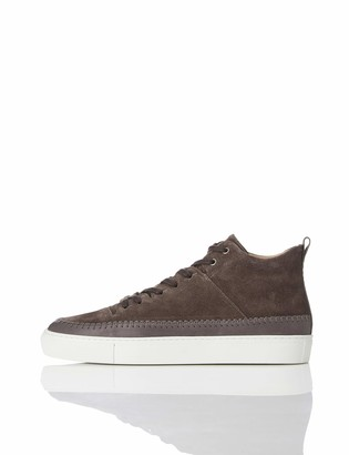 Find. Mocassin High Top Suede Hi Trainers Grau Grey) 11 UK