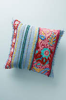Anthropologie Embroidered Edith Pillow