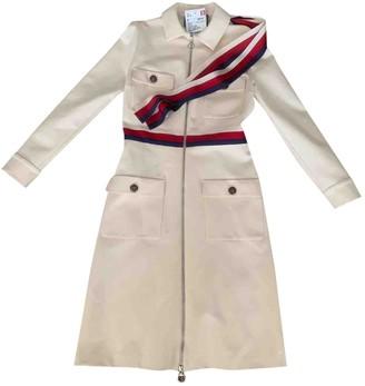 Gucci Beige Linen Coat for Women