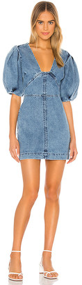 IORANE Jeans Mini Dress. - size L (also