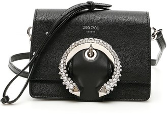 Jimmy Choo Crystal Buckle Small Madeline Bag