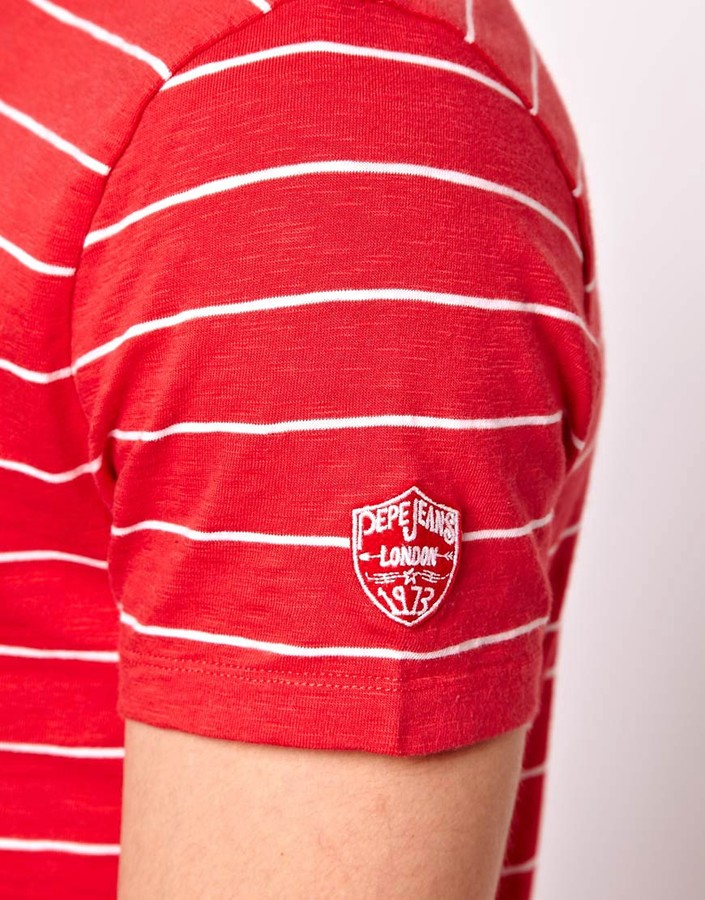 Pepe Jeans Pepe T-Shirt With Chest Pocket