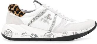 Premiata Layla embellished logo sneakers