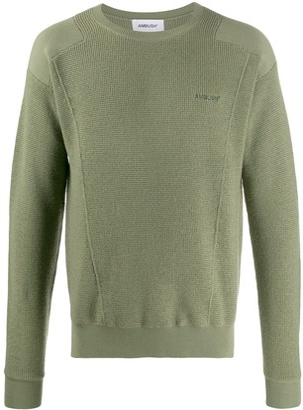 Ambush Crew-Neck Knit Sweater