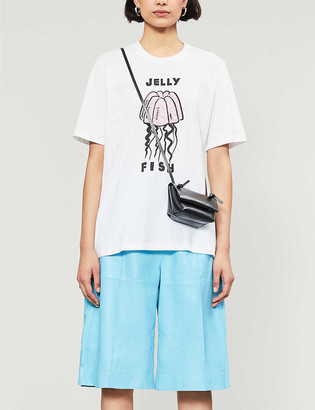 Markus Lupfer Alex jellyfish-printed cotton-jersey T-shirt