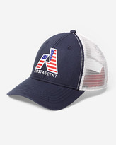 Eddie Bauer Graphic Cap - First Ascent Flag