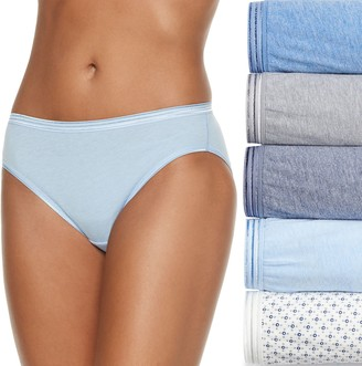 Fruit of the Loom Women's Signature 5-pack Ultra Soft Bikini Panties 5DUSKBK
