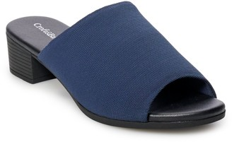 Croft & Barrow Kiosk Women's Ortholite Stretch Fabric Slide Sandals