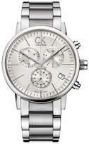 Calvin Klein Men's Post Minimal K7627126 Stainless-Steel Quartz Watch with Dial