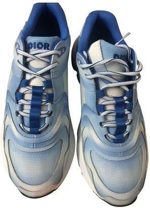 Christian Dior B22 Blue Cloth Trainers