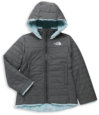 The North Face Little Girl's & Girl's Down Faux Fur Jacket