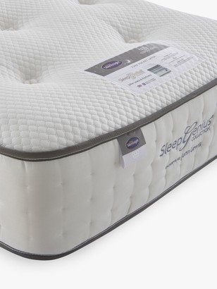 Silentnight Sleep Genius 2200 Pocket Latex Mattress, Medium/Firm Tension, Single