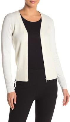 Rag & Bone Vivienne Wool Blend Zip Up Sweater