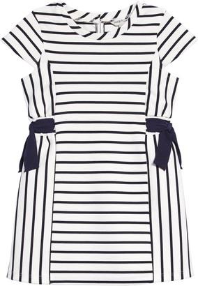 Habitual Stripe & Bow Dress