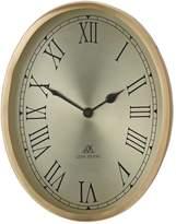 Lene Bjerre Clotilde Clock Round Roman Numeral Gold Steel 20x26cm