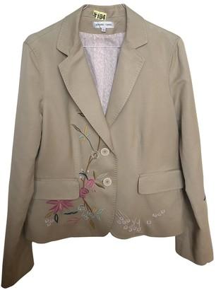 Gerard Darel Beige Cotton Jacket for Women