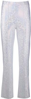 Saks Potts Jacquard Print Trousers