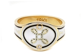Foundrae True Love Cigarband Ring