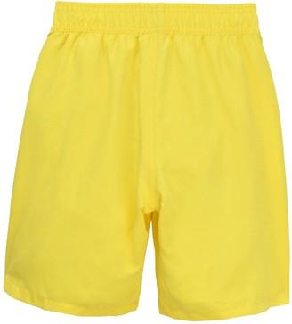 HUGO BOSS Boys Classic Logo Swimshort - Yellow