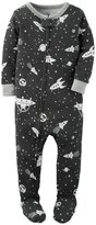 Carter's Out of Space Footie (Baby) - Print - 12 Months