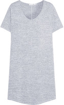 Rag & Bone Melrose Stretch-knit Mini Dress - Light gray