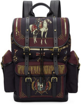 Dolce & Gabbana Multicolor Knight Military Backpack