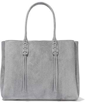 Lanvin Small Shopper Fringed Suede Tote