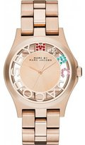 Marc Shoes by Women's MBM3264 Rose- Stainless-Steel Quartz Watch