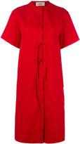 Ports 1961 open back dress - women - Cotton - 40