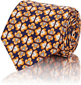 Barneys New York MEN'S FLORAL NECKTIE