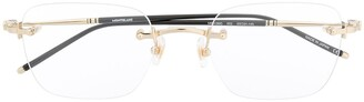 Montblanc Rimless Style Glasses