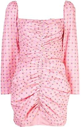 MARKARIAN Ruched Short Dress