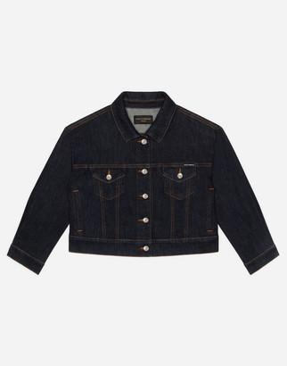 Dolce & Gabbana Dark Blue Denim Jacket