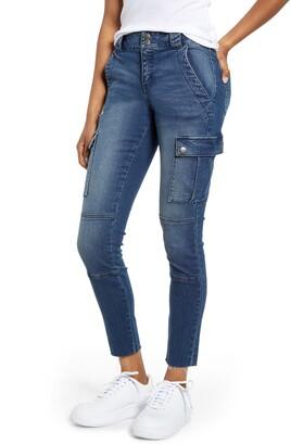 Tinsel Cargo Skinny Jeans